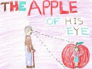 Идиома английского языка - Apple of someone's eye