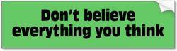 Разница между Think и Believe